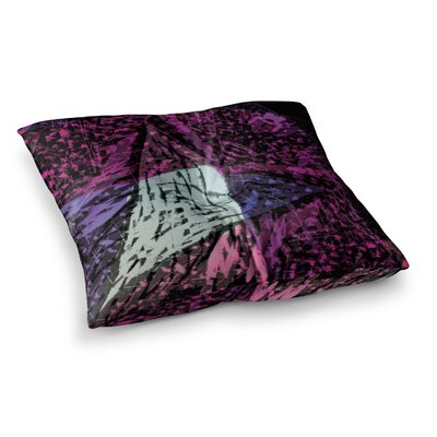 Violet Hudson Crystal Water Square Floor Pillow Size: 26 x 26