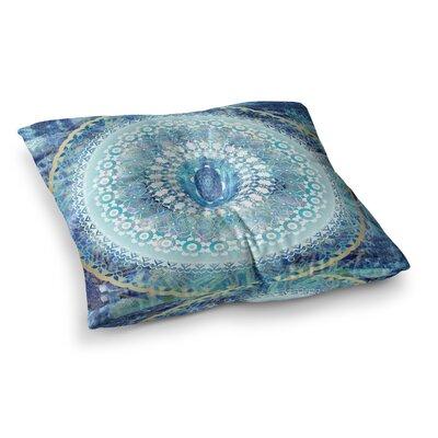 Nina May Ornate Boho Mandala Mixed Media Square Floor Pillow Size: 23 x 23