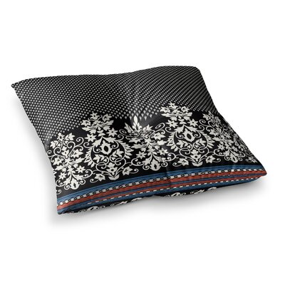 Victoria Krupp Boho Border Vector Square Floor Pillow Size: 23 x 23