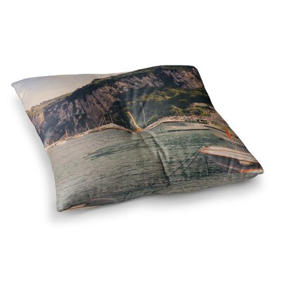 Violet Hudson Boats of Paradise Square Floor Pillow Size: 26 x 26