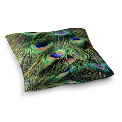 Robin Dickinson You Are Beautiful Square Floor Pillow Size: 23 x 23