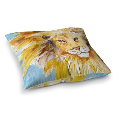 Padgett Mason Wild one Square Floor Pillow Size: 23 x 23