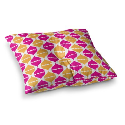 Apple Kaur Designs Moroccan Dreams Square Floor Pillow Size: 23 x 23