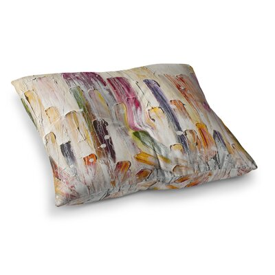 Steve Dix Candy Icing Square Floor Pillow Size: 26 x 26