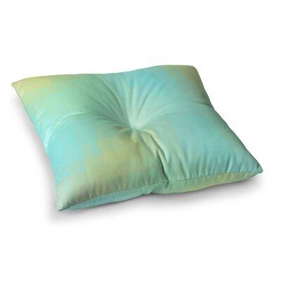 Sylvia Coomes Sea Mosiac Square Floor Pillow Size: 23 x 23