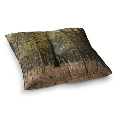 Sylvia Coomes Forest Trees Square Floor Pillow Size: 23 x 23