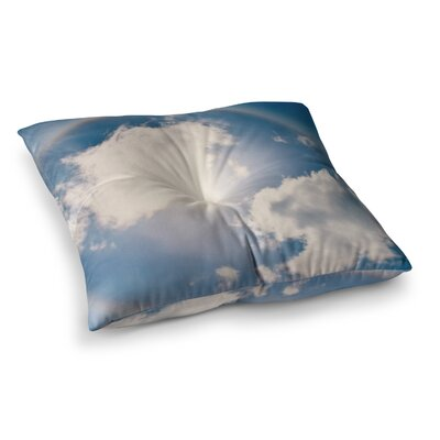 Robin Dickinson Halo Square Floor Pillow Size: 26 x 26