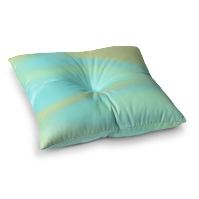 Sylvia Coomes Sea Swirl Square Floor Pillow Size: 23 x 23