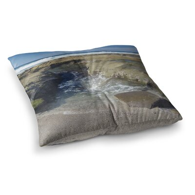 Nick Nareshni Coastal Reef Photography Square Floor Pillow Size: 26 x 26