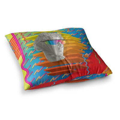 Roberlan Super Tacky System III Square Floor Pillow Size: 26 x 26
