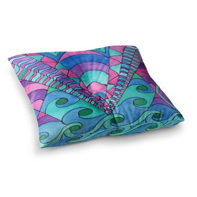 Rosie Brown Gatsby Inspi Square Floor Pillow Size: 23