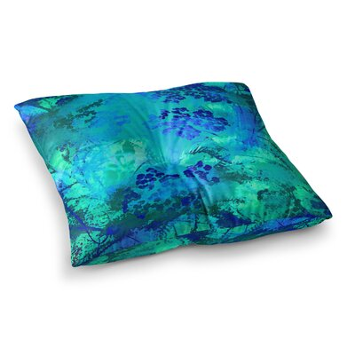 Nina May Wildflower Square Floor Pillow Size: 23 x 23