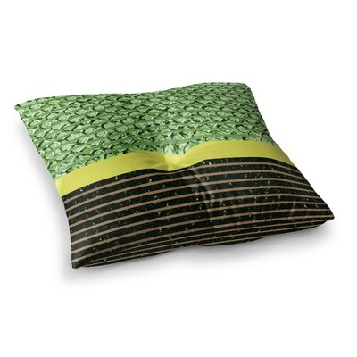 Trebam Stablo Abstract Square Floor Pillow Size: 23 x 23