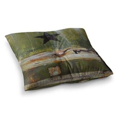 Steve Dix Diesel Square Floor Pillow Size: 23 x 23