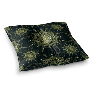 Shirlei Patricia Muniz Mystic ll Abstract Square Floor Pillow Size: 26 x 26