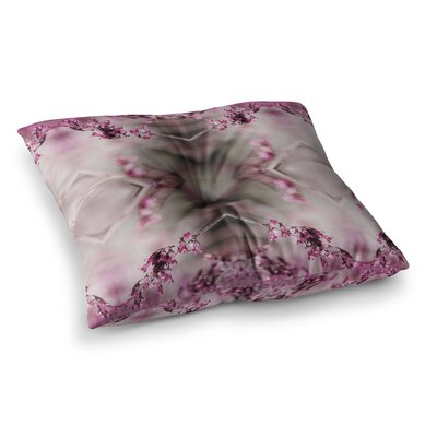 Pia Schneider Rose Spangles Pattern Square Floor Pillow Size: 26 x 26