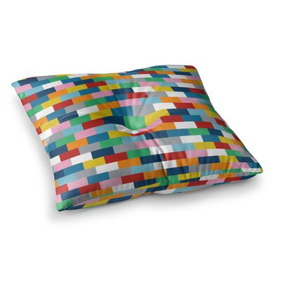 Project M Bricks Square Floor Pillow Size: 23 x 23