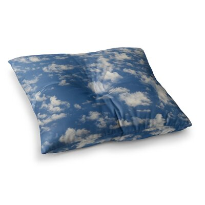 Rosie Brown Cotton Clouds Photography Square Floor Pillow Size: 26 x 26