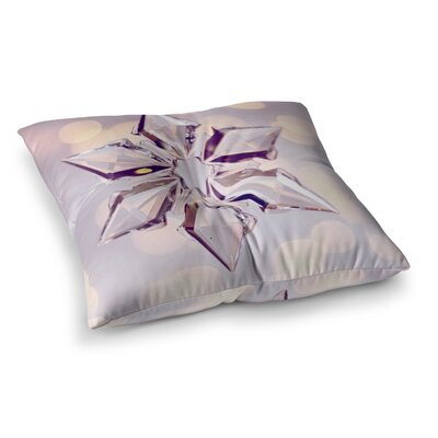 Sylvia Cook Starbright Holiday Square Floor Pillow Size: 26 x 26