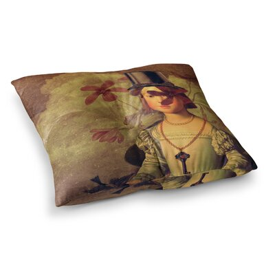 Suzanne Carter The Key Portrait Square Floor Pillow Size: 23 x 23