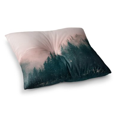Suzanne Carter Haze Digital Square Floor Pillow Size: 26 x 26