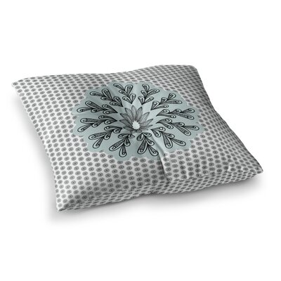 Shirlei Patricia Muniz My Flower Abstract Square Floor Pillow Size: 23 x 23