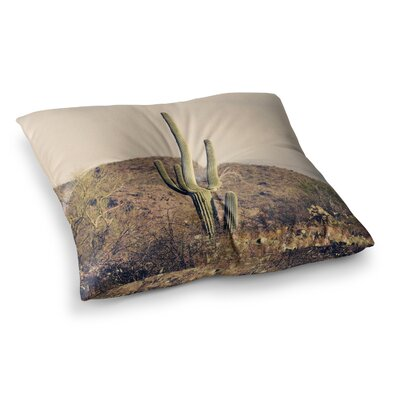 Sylvia Coomes Cactus Desert Landscape Photography Square Floor Pillow Size: 23 x 23
