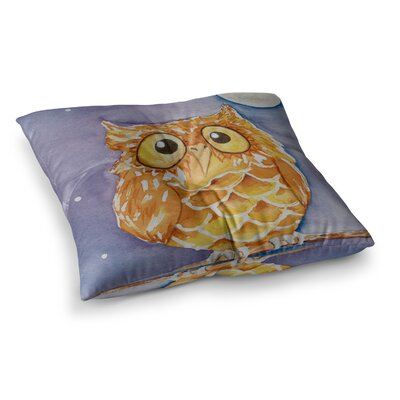 Padgett Mason Little Hoot Square Floor Pillow Size: 23 x 23
