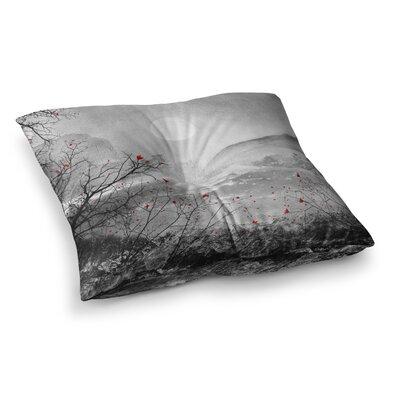 Viviana Gonzalez the Sounds and Poems Chap Square Floor Pillow Size: 26 x 26