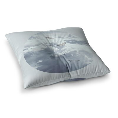 Suzanne Carter Feathers Square Floor Pillow Size: 26 x 26