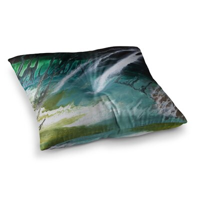Steve Dix Ocean Majestic Square Floor Pillow Size: 23 x 23