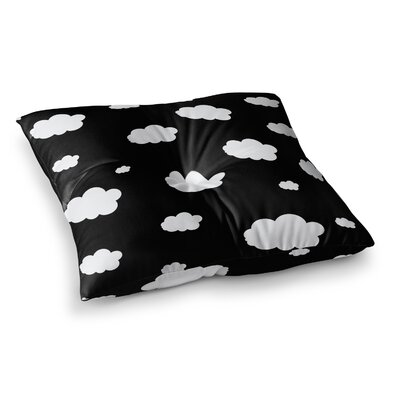 Suzanne Carter Clouds Square Floor Pillow Size: 23 x 23