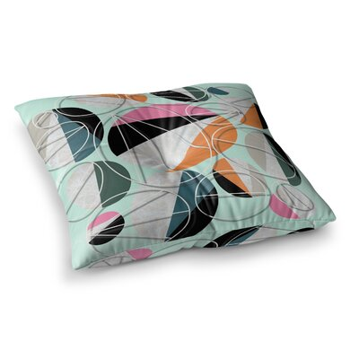 SusanaPaz Stones Digital Square Floor Pillow Size: 23