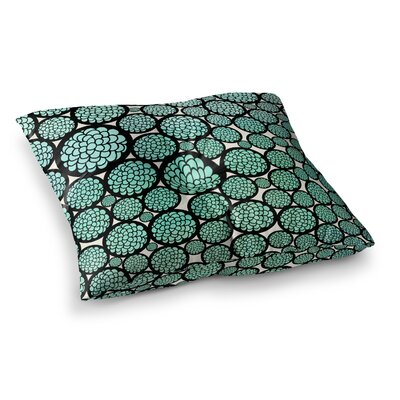 Pom Graphic Design Blooming Trees Circles Square Floor Pillow Size: 26 x 26