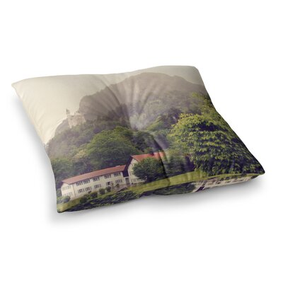 Sylvia Coomes German Beauty Travel Square Floor Pillow Size: 26 x 26