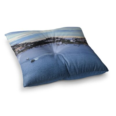 Nick Nareshni Puerto Rico Coastline Photography Square Floor Pillow Size: 23 x 23
