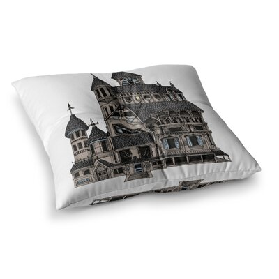 Sophy Tuttle House of Usher Haunted Square Floor Pillow Size: 23 x 23