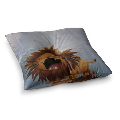 Rachel Kokko Dandy Lion Square Floor Pillow Size: 23 x 23