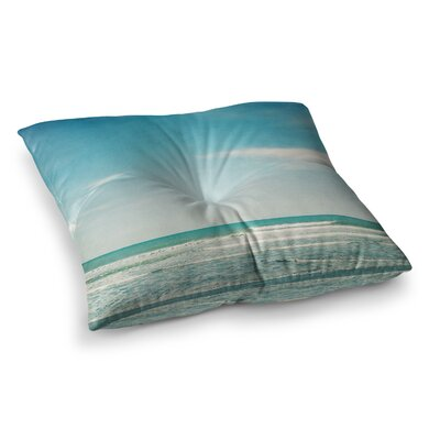 Susannah Tucker The Ocean Square Floor Pillow Size: 26 x 26