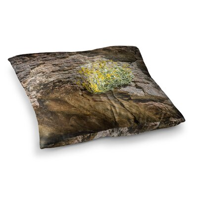 Nick Nareshni Desert Flowers Photography Square Floor Pillow Size: 26 x 26