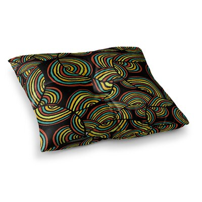 Pom Graphic Design Infinite Depth Square Floor Pillow Size: 26 x 26
