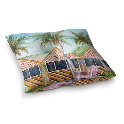 Rosie Brown McT on Sanibel Square Floor Pillow Size: 23 x 23