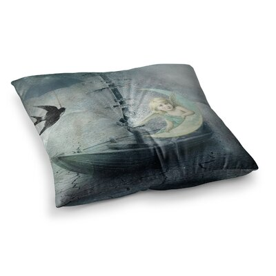Suzanne Carter Rain Square Floor Pillow Size: 26 x 26