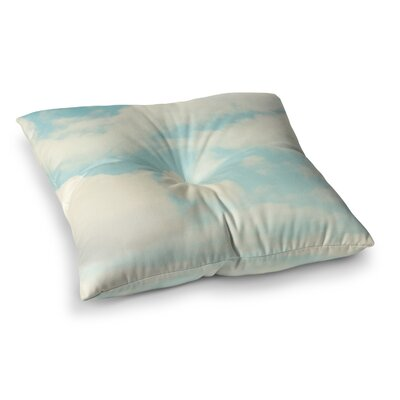 Sylvia Cook Clouds Square Floor Pillow Size: 23 x 23