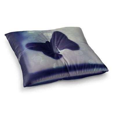 Robin Dickinson Enchanted Butterfly Square Floor Pillow Size: 26 x 26