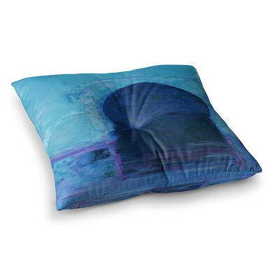 Oriana Cordero Chefchaouen- City Square Floor Pillow Size: 23 x 23