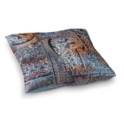 Victoria Krupp Italian Tiles Digital Square Floor Pillow Size: 23 x 23