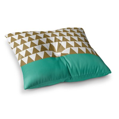 Suzanne Carter Geo Square Floor Pillow Size: 26 x 26