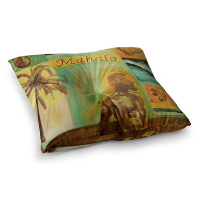 Nathan Gibbs Origins Square Floor Pillow Size: 26 x 26