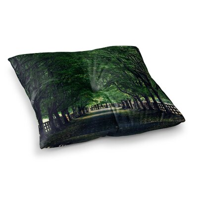 Robin Dickinson Welcome Home Trees Square Floor Pillow Size: 23 x 23